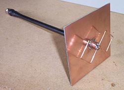 Membuat Antenna Tv Biquad model baru