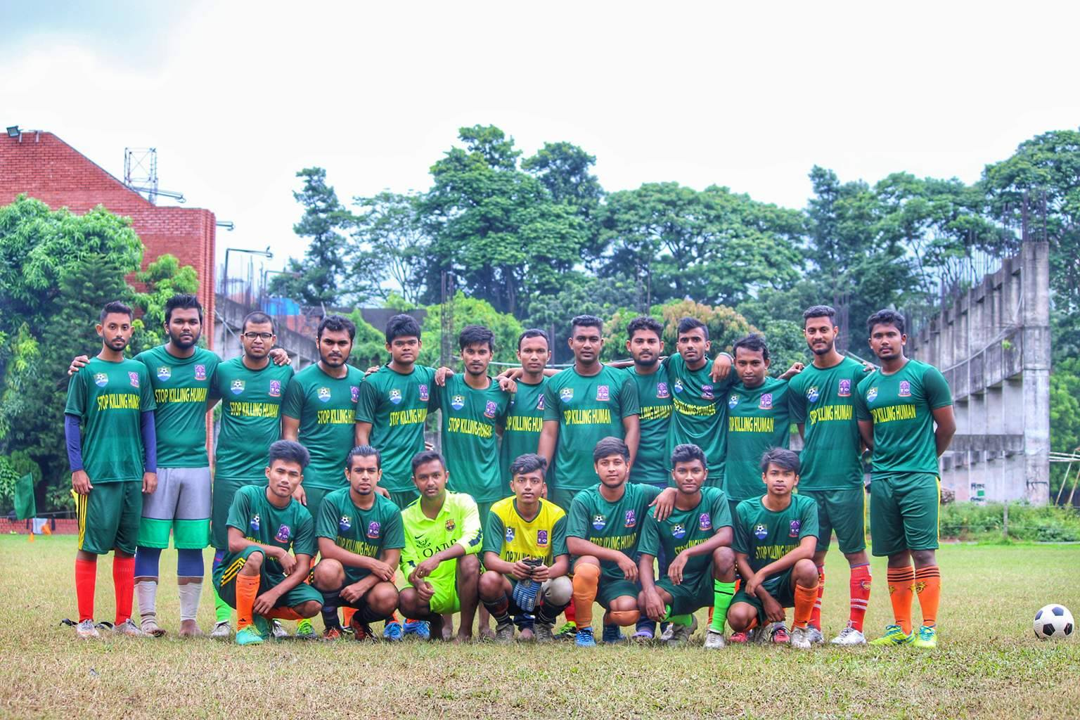 DU Inter-Departmental Football Tournament starts