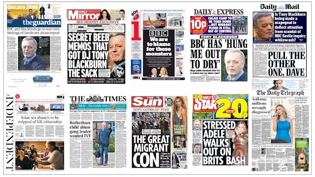 front pages 26-02-16