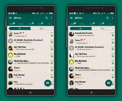 BBM MOD WhatsApp v3.3.6.51 APK (BBM MOD Tampilan WA)
