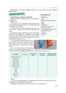 7. Sınıf İngilizce Ders Kitabı Cevapları Dikey Sayfa 203