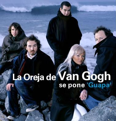 Foto de La Oreja de Van Gogh en portada de disco