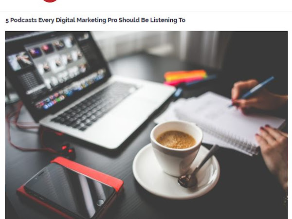 5 Podcasts Every Digital Marketing Pro Should Be Listening To: Margaret Fontana Media Featured