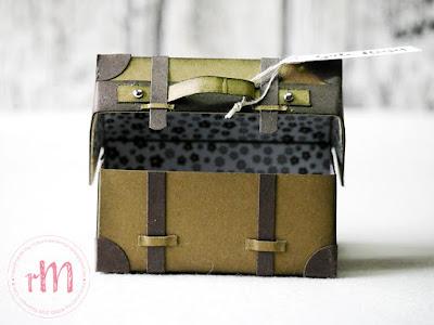 Stampin' Up! rosa Mädchen Kulmbach: Geldgeschenk Koffer