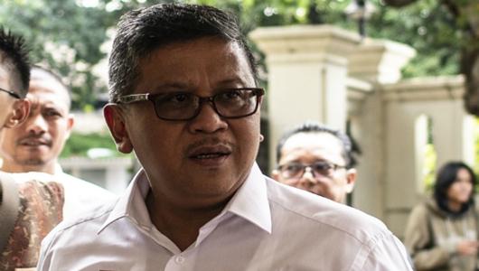 Hasto: Pidato AHY Jauh Lebih Baik dari Prabowo