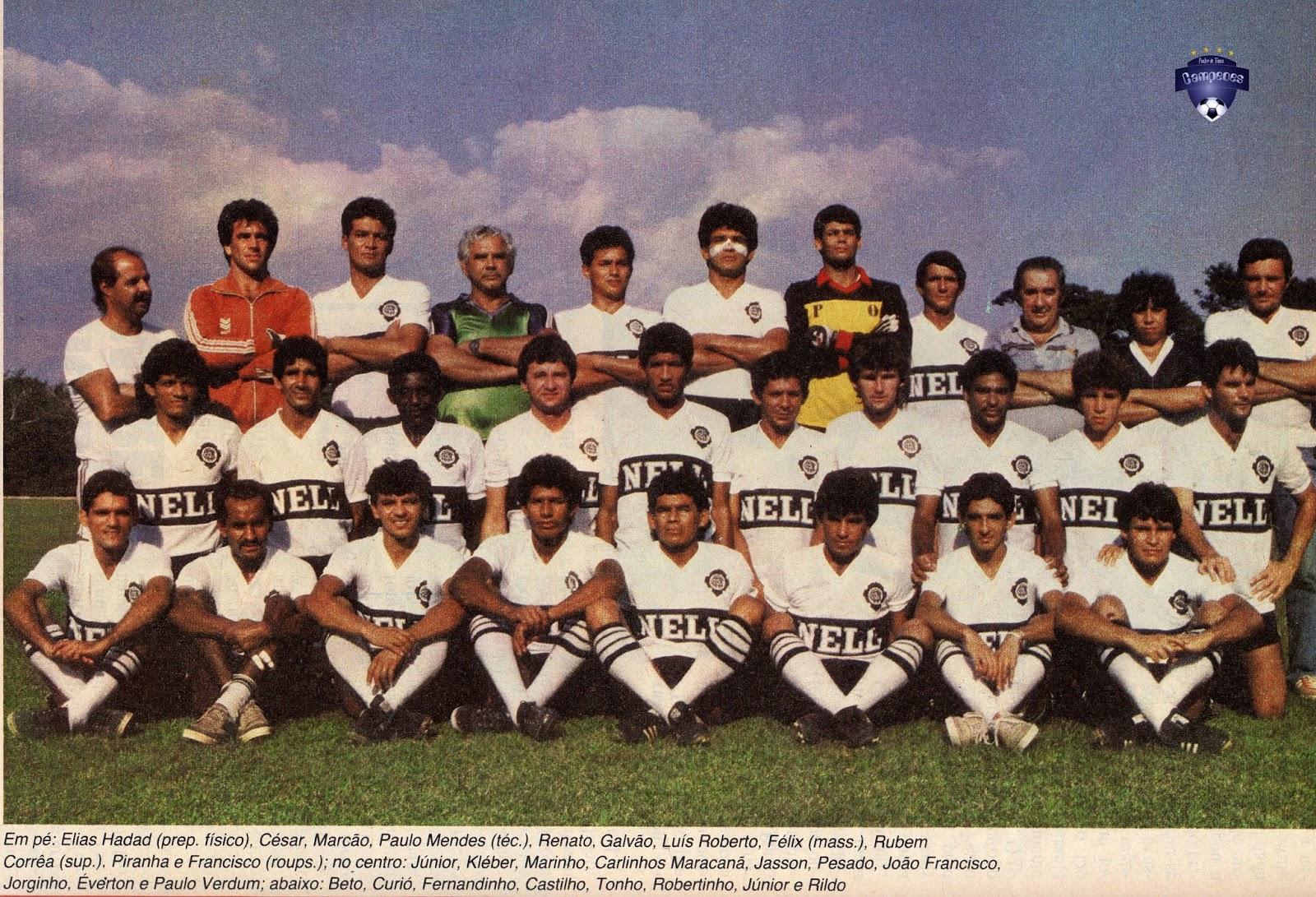 5cbe8904db O Rio Negro tradicional rival do Nacional em Manaus conquistava o estadual  amazonense em 1987