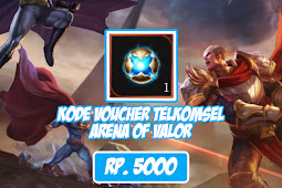 Voucher Telkomsel Arena of Valor
