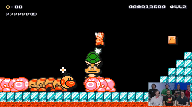 Ice Cage Super Mario Maker level Nintendo