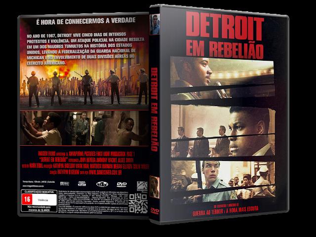 Capa DVD Detroit Em Rebelião [Exclusiva]