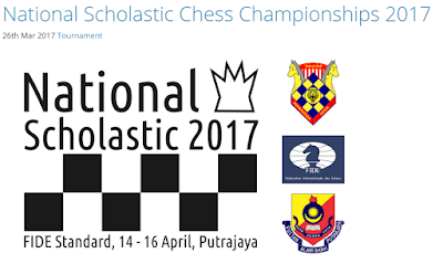 NATIONAL SCHOLASTIC CHESS CHAMPIONSHIP 2017