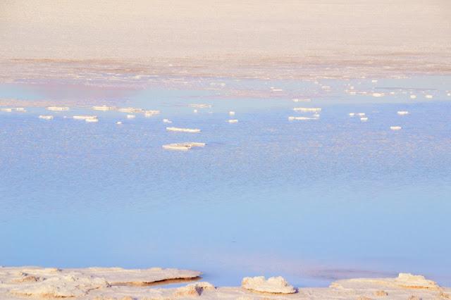 Pedaços de sal - Laguna Tebinquiche
