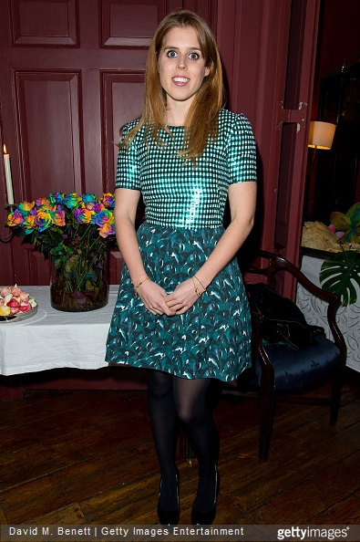 Princess Beatrice of York and Saloni Lodha and attends the Saloni Holi colour cocktail party