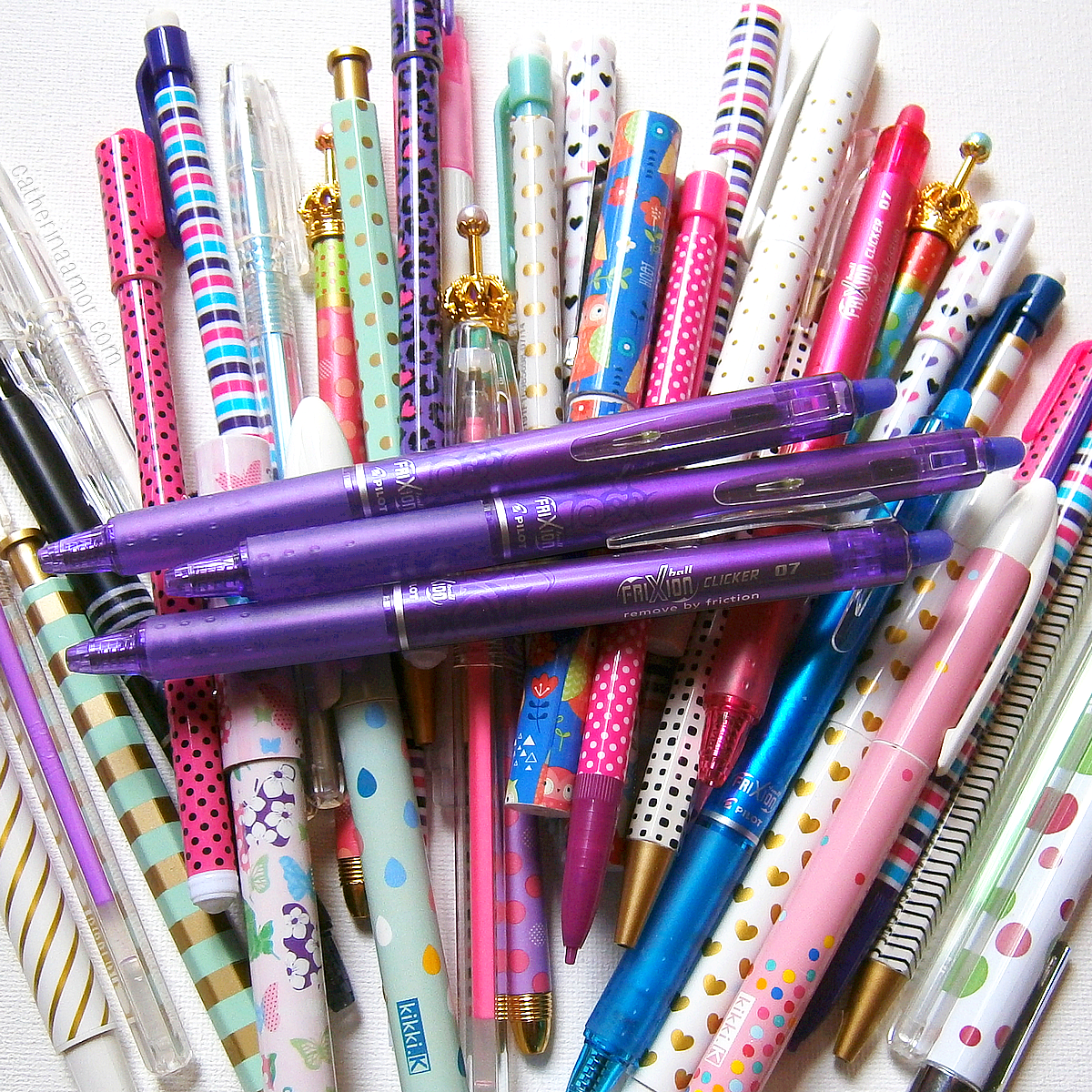Pen Collection Purple Frixion