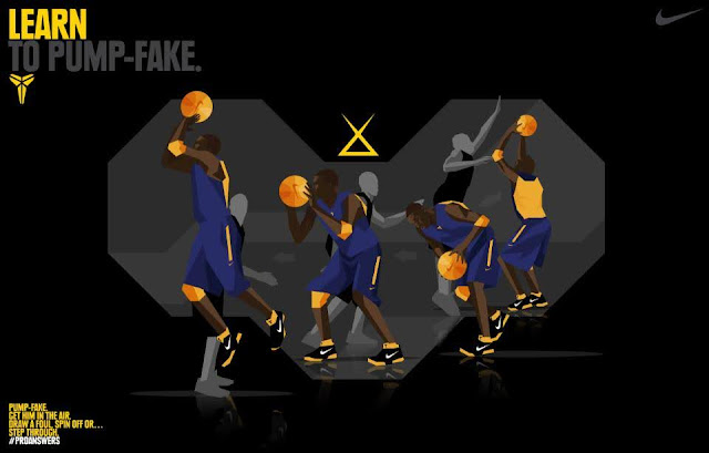 善用「出手假動作」擺脫難纏對手 - Kobe Pump Fake