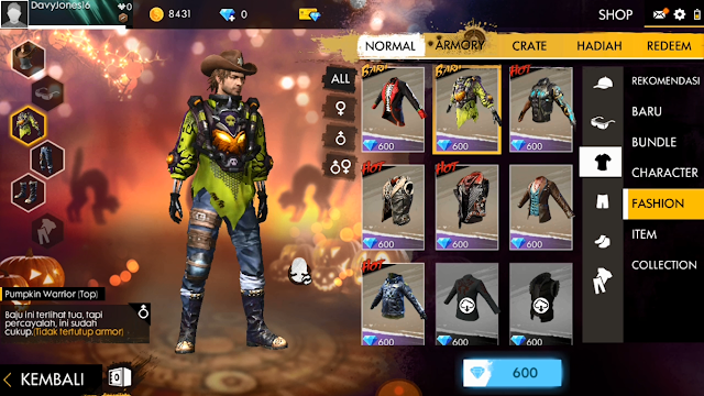 Tutorial Membuka Skin/Set Bundle Free Fire dengan Lulubox 2