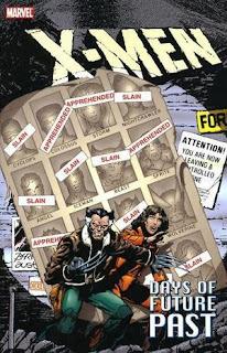 X-Men: Days of Future Past book cover