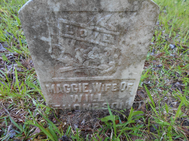 Tombstone Tuesday: Maggie Mitchell Thompson --My 2nd Great Grand Aunt --How Did I Get Here? My Amazing Genealogy Journey