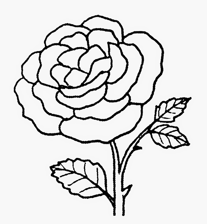 99 Bunga Hitam Putih Gambar Bunga Kartun Lengkap Cikimm Com
