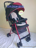 Kereta Bayi CocoLatte JS849 New Life Super Light Weight Extra Thick Cushion Seat 3.9kg