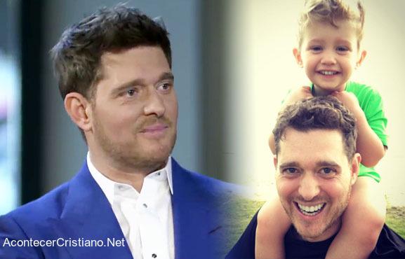 Michael Bublé y su hijo