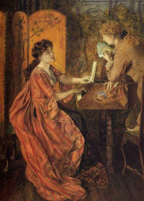 Duet (1878), Lucy Madox Brown Rossetti