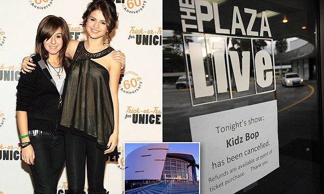 Selena gomez mourns christina grimmie cancels fan meet and greet in i miss you christina gomez wrote alongside an black and white photo of herself with christina who was an opening act and backup dancer for her m4hsunfo