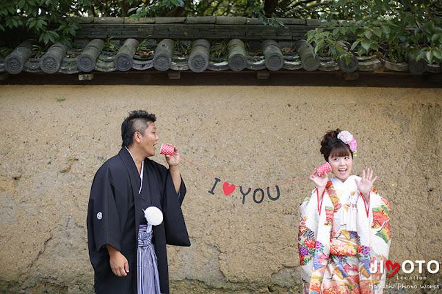 奈良前撮りロケーション撮影
