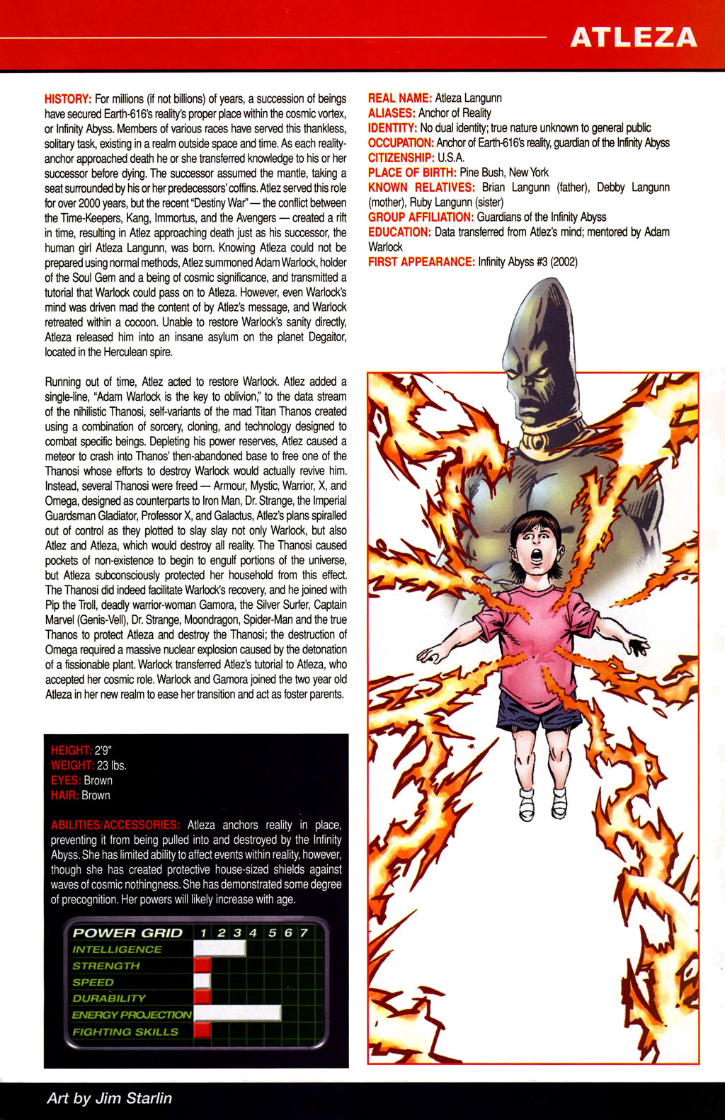 Read online All-New Official Handbook of the Marvel Universe A to Z comic -  Issue #1 - 39