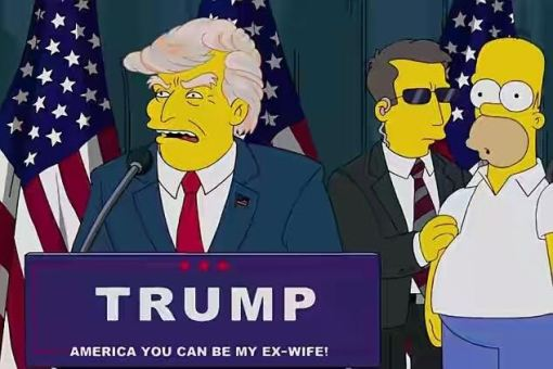 The Simpsons predicted Trump's victory 16 years ago