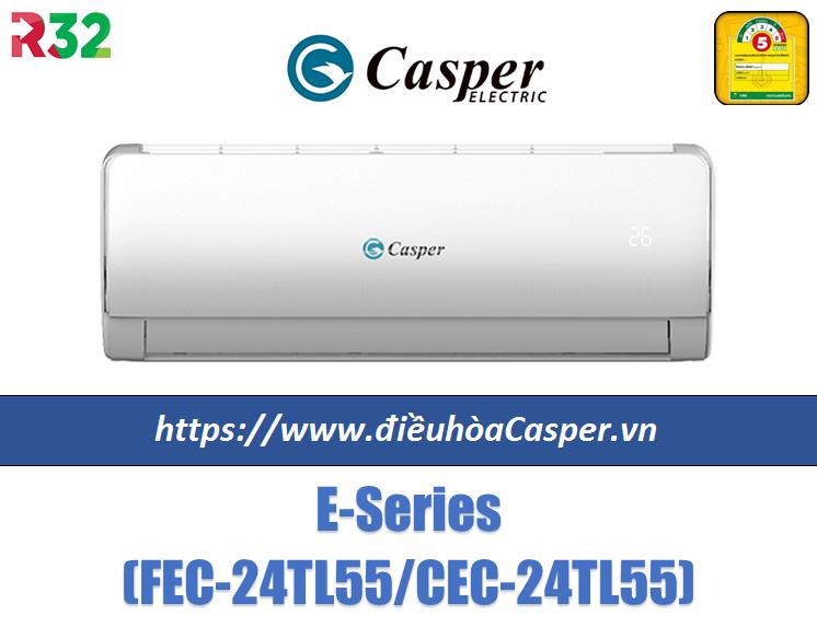 Điều hòa Casper 24000 BTU Gas 32 FEC-24TL55 / CEC-24TL55