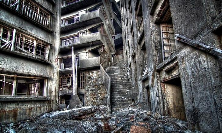 Gunkanjima, Kawasan Industri yang Berubah Menjadi Pulau Hantu