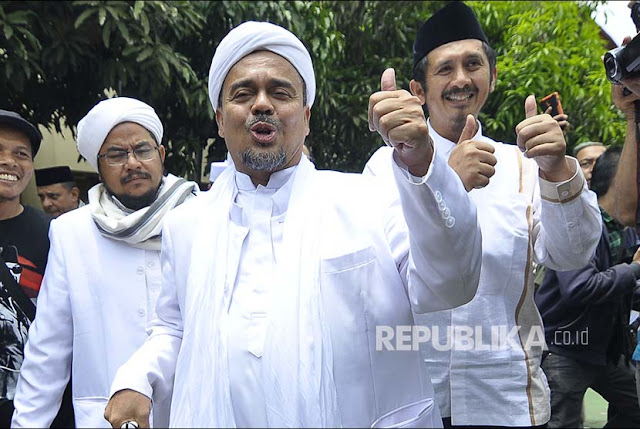 Bawaslu DKI: No campaign violation in Habib Rizieq's speech