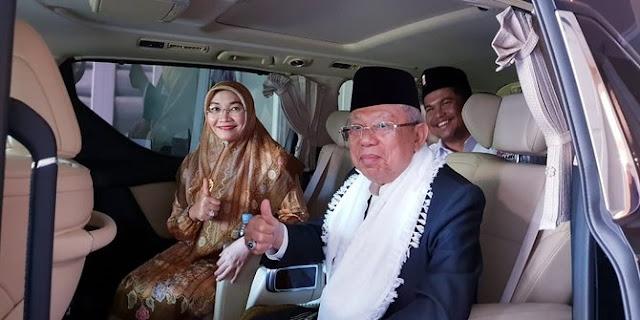 Berkat Jaringan Pesantren, Ma'ruf Optimis Jokowi Kalahkan Prabowo di Garut