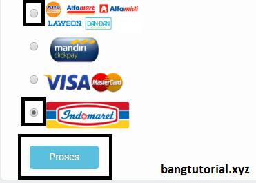 Metode pembayaran Alfamart dan Indomaret