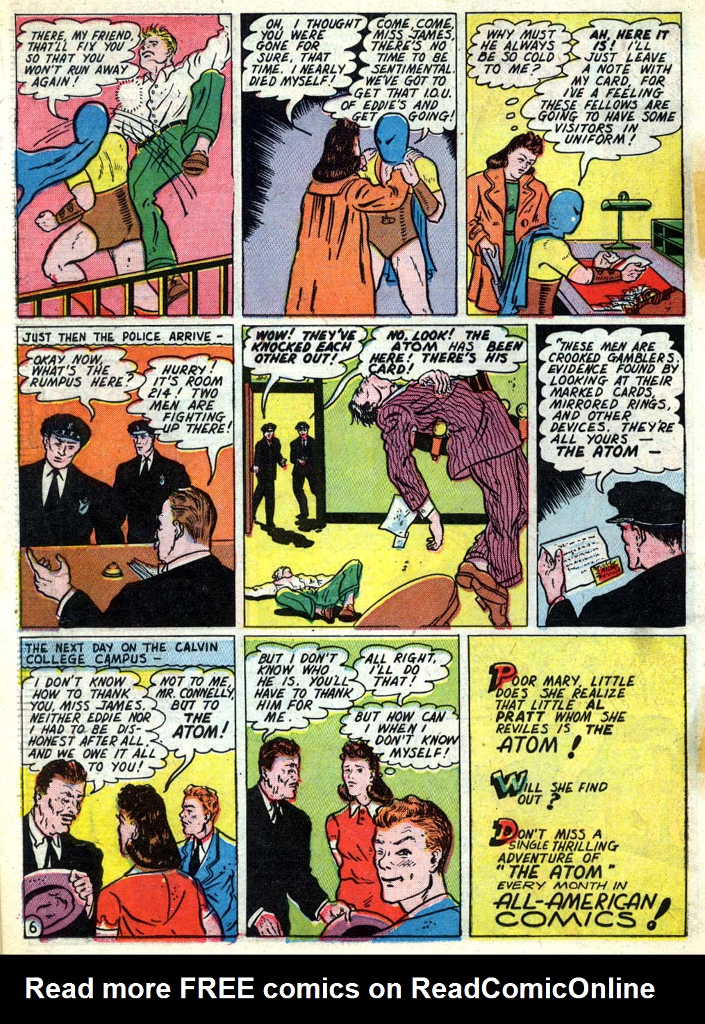 Read online All-American Comics (1939) comic -  Issue #26 - 34