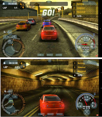 Need For Speed Most Wanted ISO/CSO Compress For PPSSPP Android