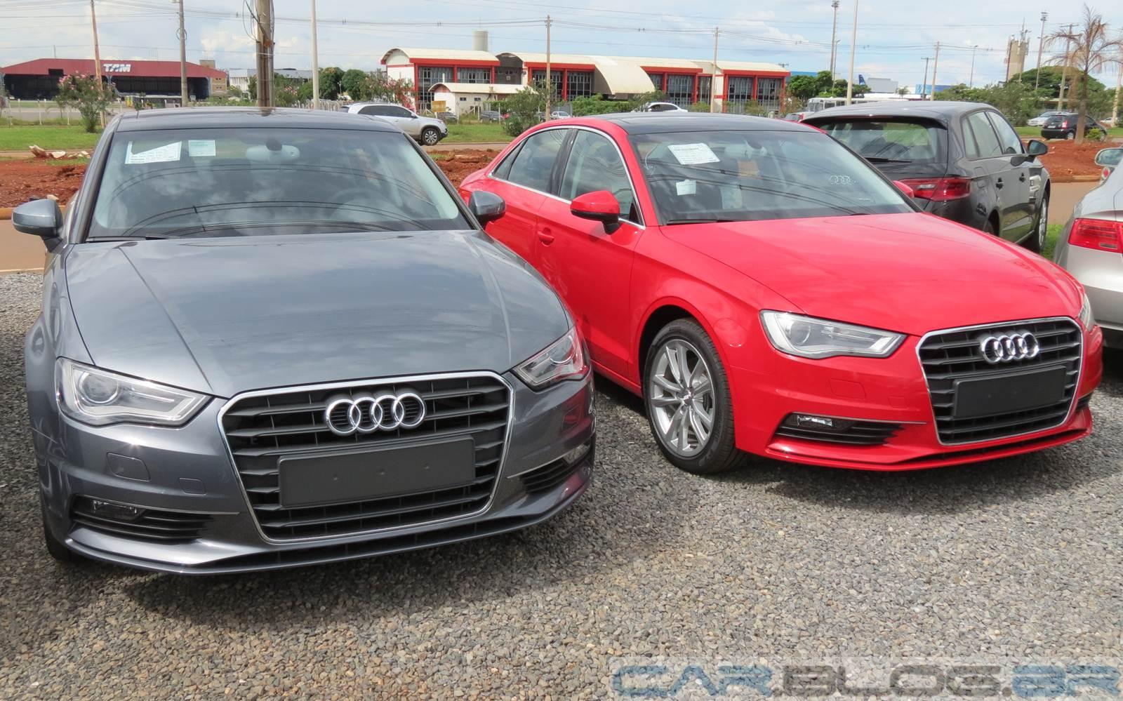 Novo Audi A3 Sedan Em Dois Tons De Branco Car Blog Br
