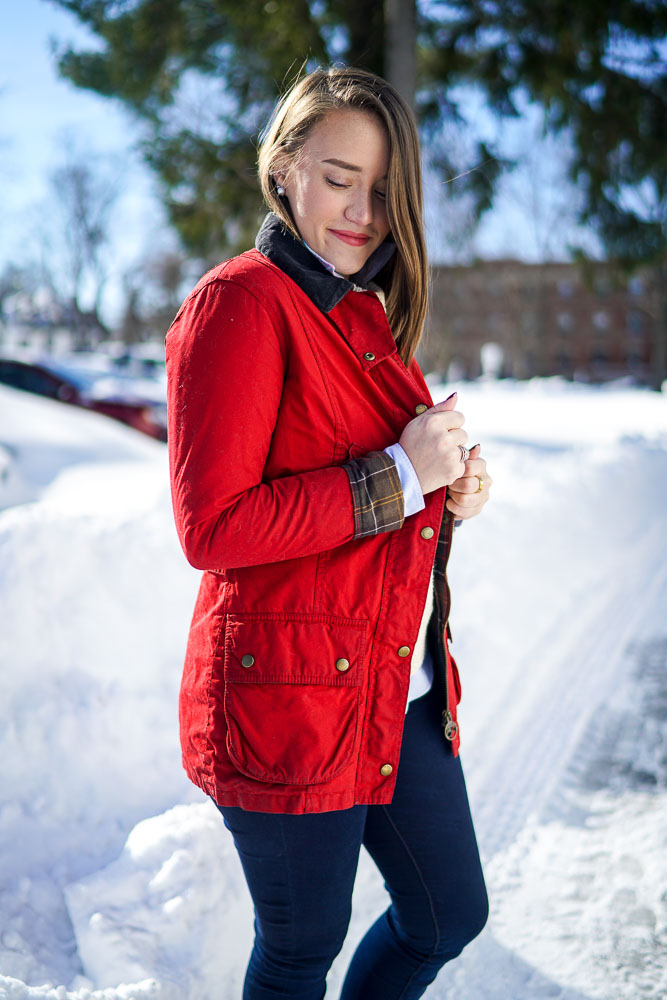Krista Robertson, Covering the Bases,Travel Blog, NYC Blog, Preppy Blog, Style, Fashion Blog, Travel, Fashion, Preppy Style, Preppy Winter Looks, Barbour, LL Bean Boots, NYC Winter, Winter Looks, Cute Winter Style, Winter Fashion Inspiration, Snowy Weather, Vintage Barbour