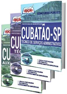 Apostila Concurso Prefeitura de Cubatão 2016