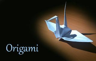 Grulla de origami japones