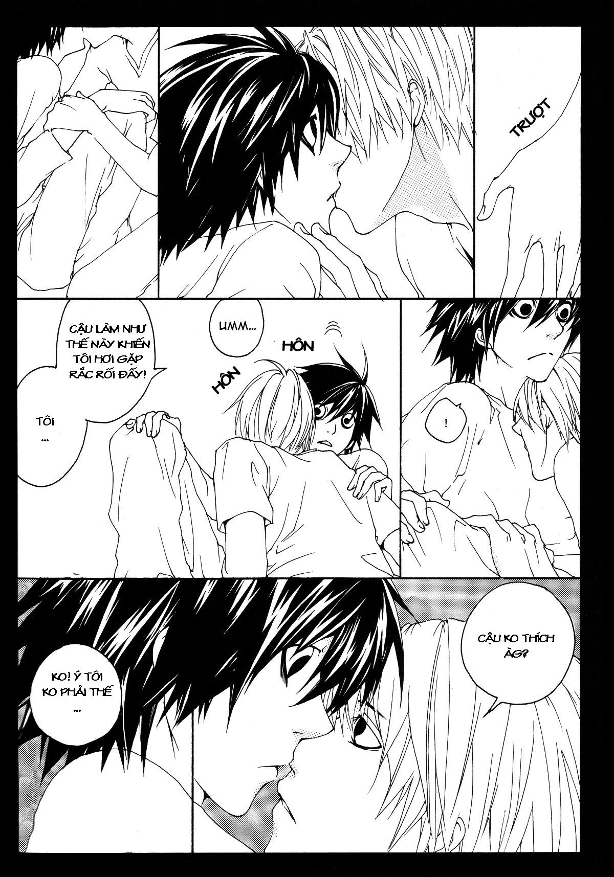 Hình ảnh 024 in Death Note Doujinshi - Feather Plus