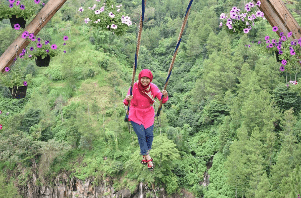 Wisata Batu Flower Garden Malang