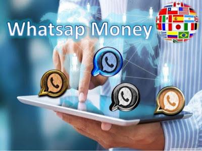 Dinheiro pelo WhatsApp