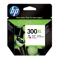 Cartucho HP 300 XL color