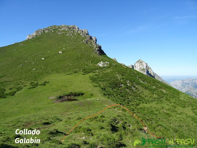 Ruta al Cueto Cerralosa y Jajao: Collado Galabín