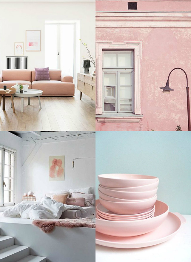 Tendencias de Decoración en Rosa Quartz