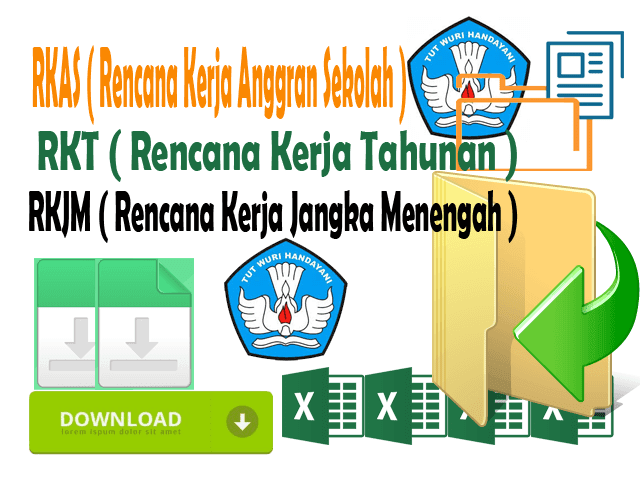 Download Gratis RKAS ,RKT dan RKJM Lengkap Format Words