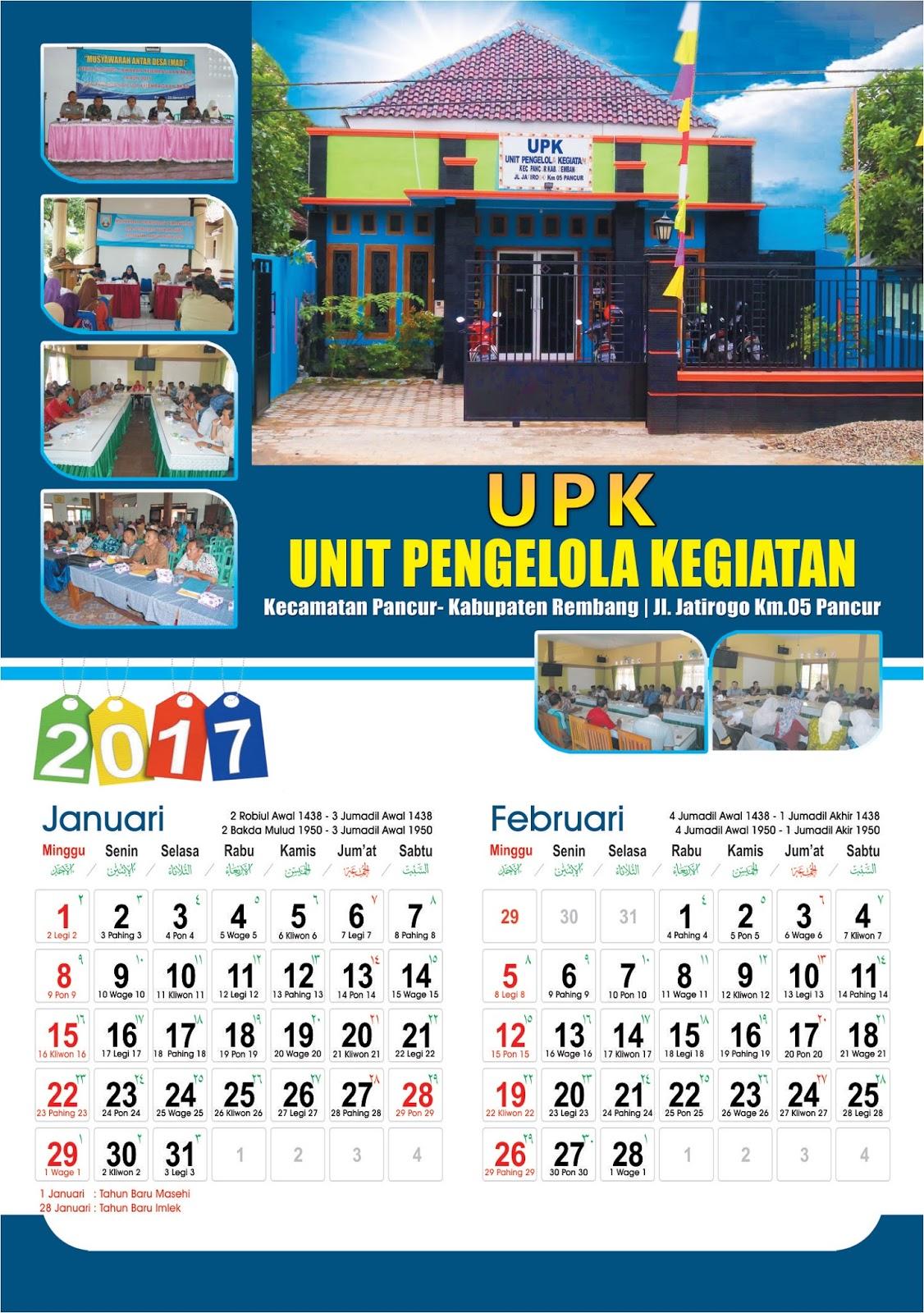 Desain Kalender