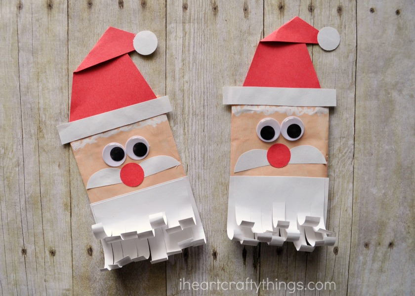 Simple and Fun Santa Envelope Puppet