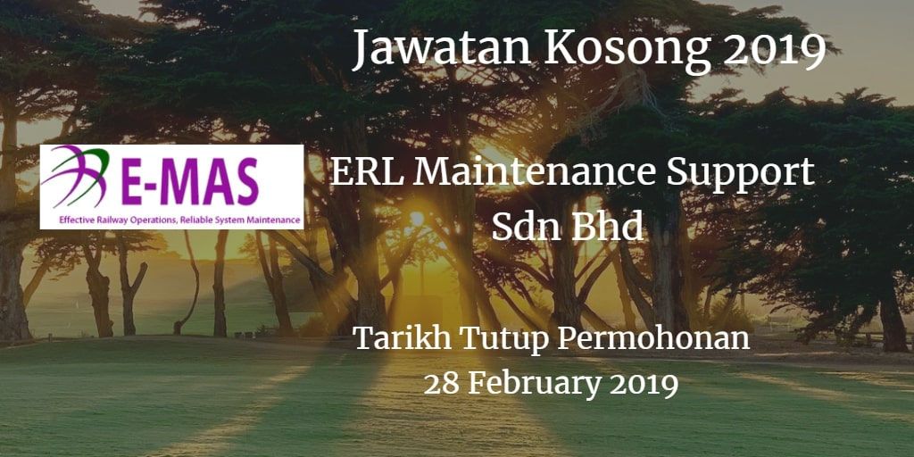 Jawatan Kosong E-MAS 28 February 2019